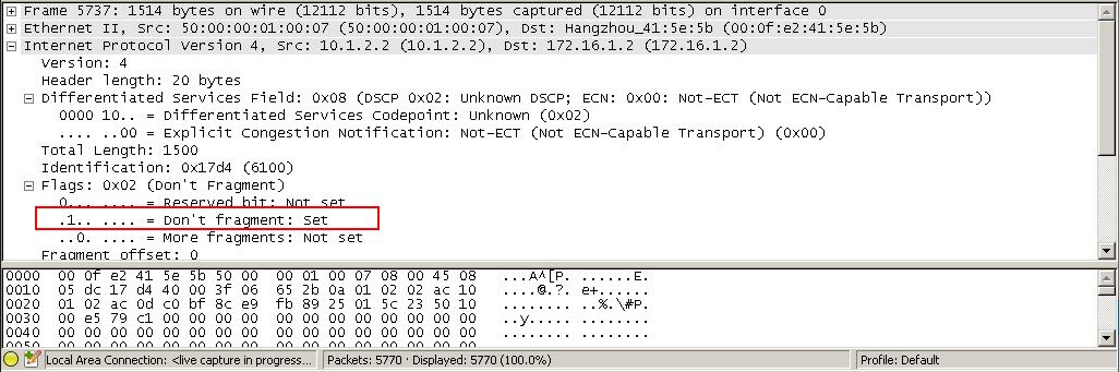 FTP设置DF位
